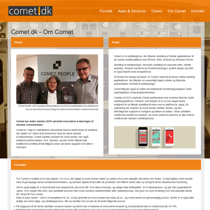CometPeople Om os